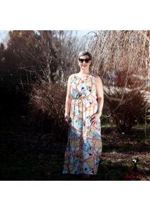 Muszlin maxi ruha