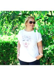 Marilyn Monroe-mintás póló