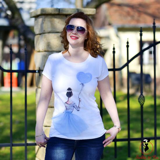 Lufis-lány póló