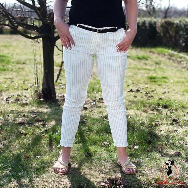 Öves csíkos nadrág